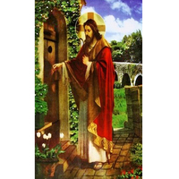 Sprzedaż diament Mozaika cross stitch Religijne Jezus Dekoracji Malowanie Diy Diament haft Rhinestone Wklejony Wywiercić Pełne Domu
