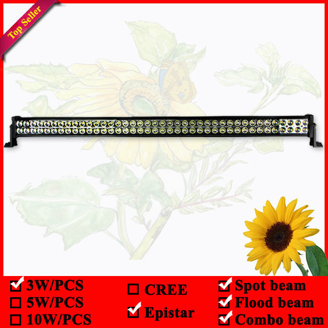 12V 24V 42 Inch 240W LED Light Bar for Off Road Indicators Work Driving Offroad Boat Car Truck 4x4 SUV ATV Fog Spot Flood Combo brand new universal 40 w 6 inch 12 v led car work light daytime running lights combo light off road 4 x 4 truck light