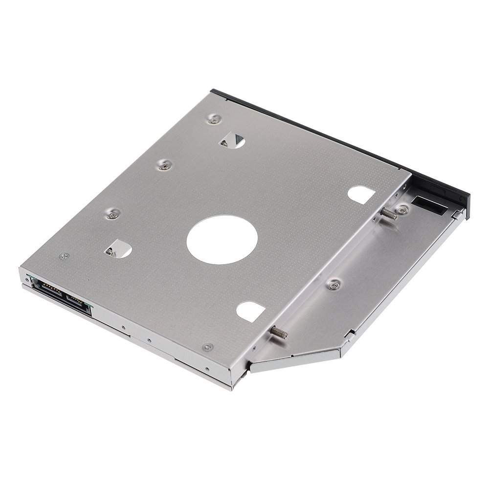 US $10 5 |2nd HDD SSD Hard Drive Caddy Adapter for Dell Inspiron 15 3521  15R 5537 5521 5721 GU90N Studio 1569 L521x Swap DU 8A5HH 9 5mm-in HDD