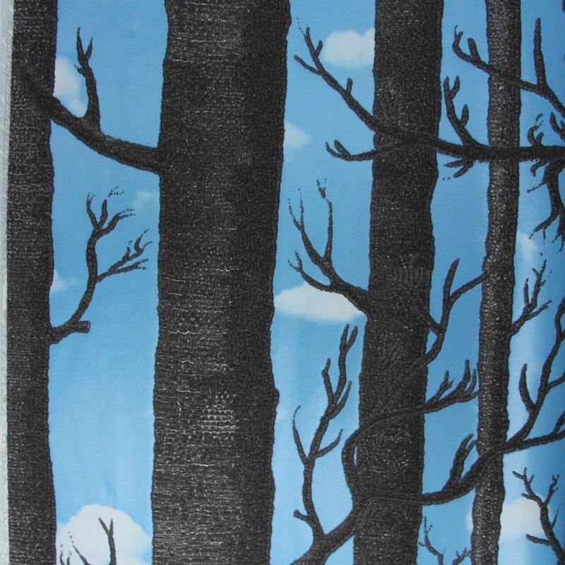 Beibehang деревья ЛЕС росписи обои для стен 3d papel де parede 3D стекаются Бумага для Гостиная стены Бумага Roll