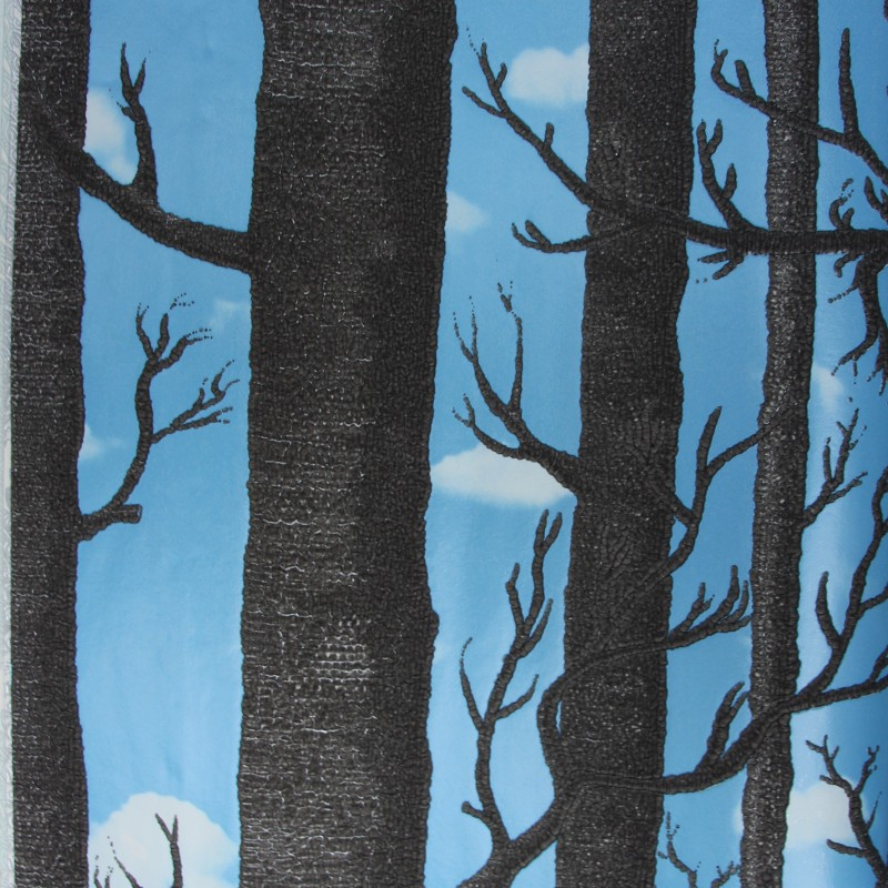 Beibehang arbres forêt papier peint Mural pour murs 3d papel de parede 3D flocage papier peint pour salon papier peint rouleau