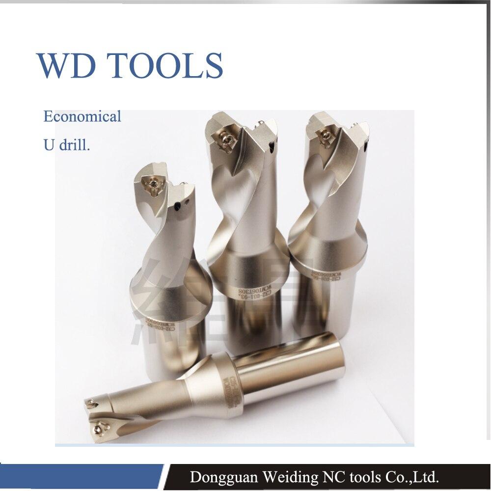 JIK TOOLS ZD04 24-30.5 U Drill + WCMT050308 carbide inserts indexable inserts drills for metal drilling цена