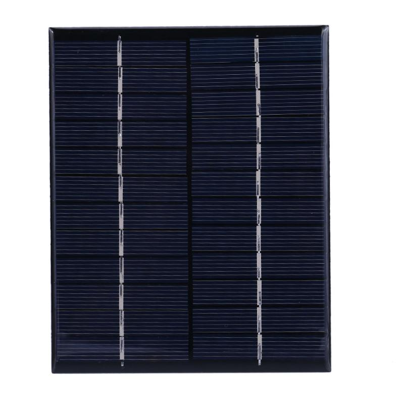 Alloyseed 2W 12V Mini Solar Panel Polycrystalline Silicon DIY Battery Sun Power Charger Board for Street Lamp Lighting System