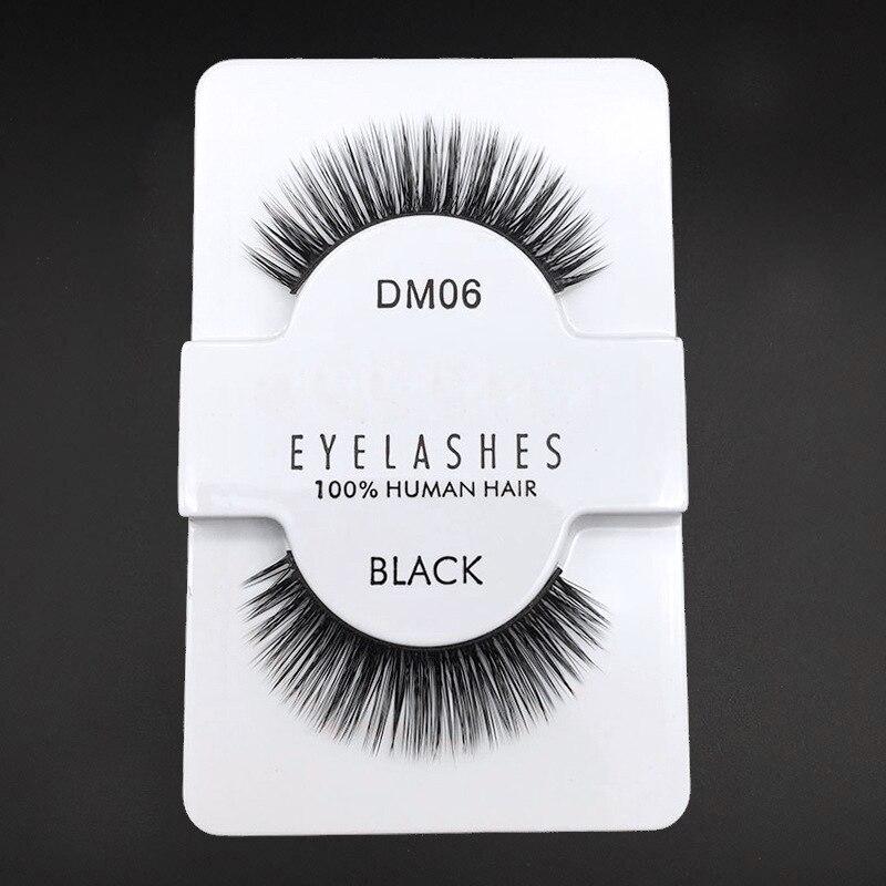 6 Styles Sexy 100% Handmade 3D Natural and Soft Beauty Thick Long False Mink Eyelashes Fake Eye Lashes Eyelash High Quality