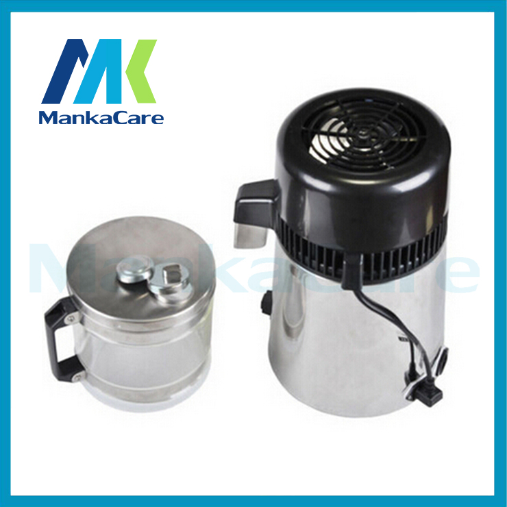 Stainless Steel Water Distiller Distiling Machine Professional Sterilizer Glass Barrel Household Medical Dental Clinic household water distiller electric stainless steel water distiller home and dental water distiller dental clinic dentist medical