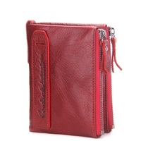In 2017 The New Leather Double Zip Wallet The Fashion Leisure Hand Bag Men S Wallet