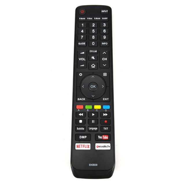 NEW Replacement for HISENSE EN3B39 TV Remote control