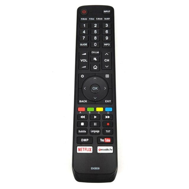 Nouveau remplacement pour HISENSE EN3B39 TV télécommande H45N5750 H75N6800
