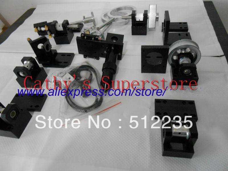 Co2 lazerinių pjaustytuvų dalys Lazerinių graviravimo mašinų dalys Aparatūros perdavimas Lazerio galvutės mechaniniai komponentai
