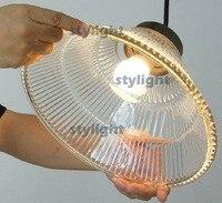 Урожай стекла подвеска простой подвесной светильник Северной Европы промышленность подвесной светильник лампа накаливания подвеска свет