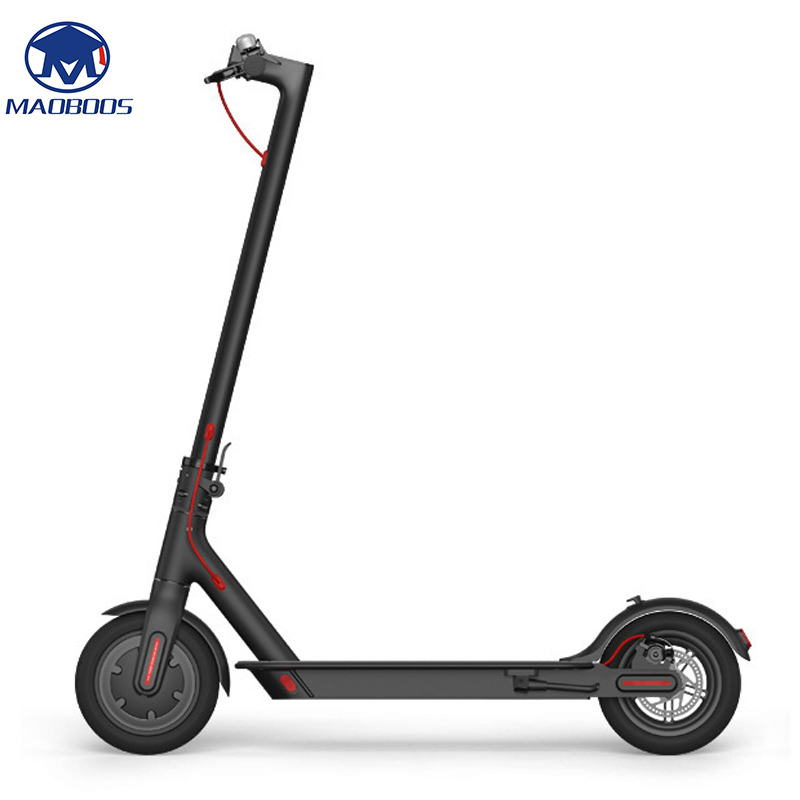 2 Wheel Lightweight Electric Scooter with Long and foldable board 1