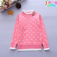 Baby Girl Clothes Winter Pullover Children Sweaters Cotton Warm Soft Sueter Big Girls Sweater Kids Christmas