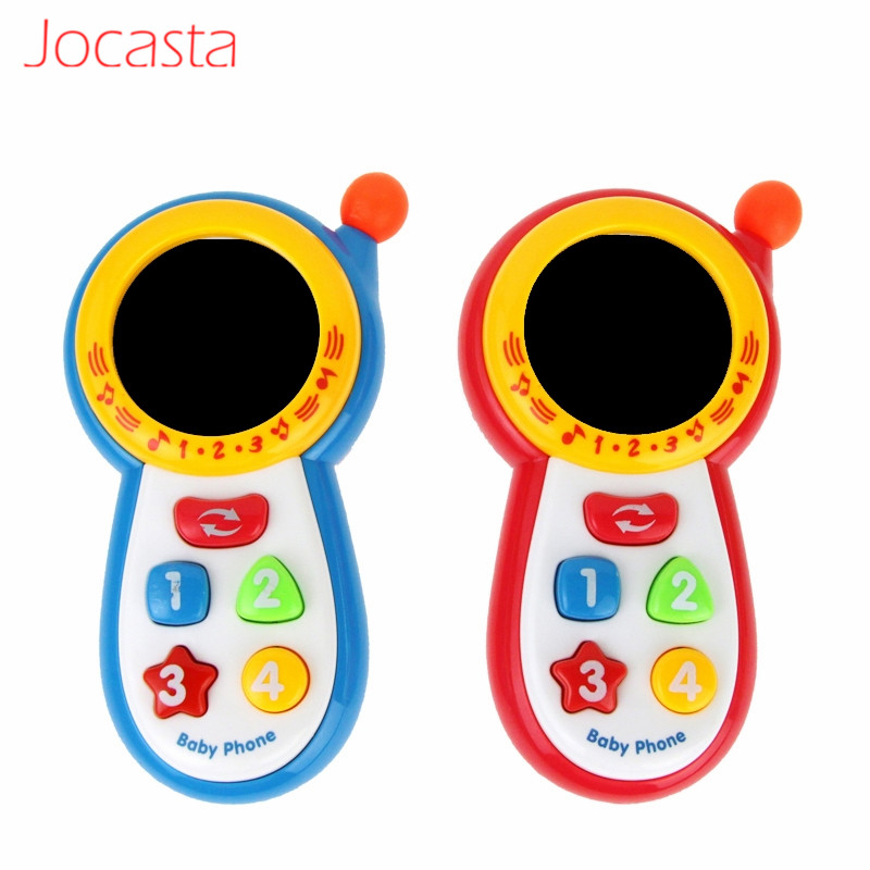 Pretend Cell Phone Toy Baby Kids Learning Study Musical Sound phone Children Educational Toy Mobile phone Electric Toy ! image