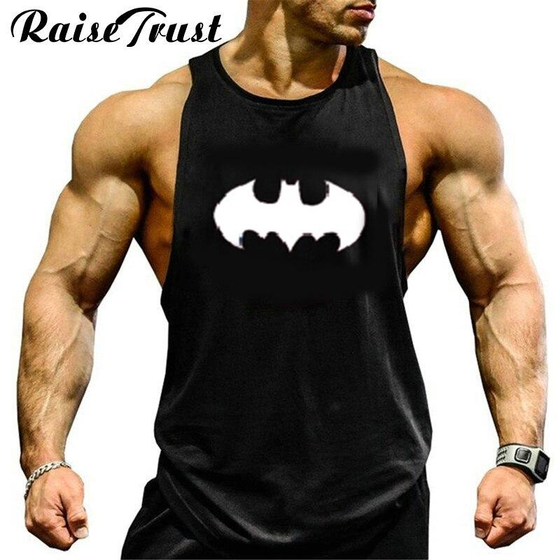 Nueva moda de algodón sin mangas camisas tank top hombres Fitness camisa mens singlet colete Bodybuilding Plus size gyms chaleco Bodybuildin
