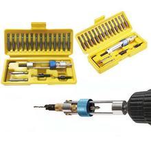Голова желтый комплект PH3 PH1 коробка биты набор дрель половина Скорость шт высокое драйвер время PH2 PH0 с Сталь посылка 20