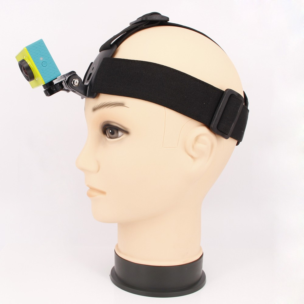 Elastic Head Strap Adjustable Headstrap For XiaoYi Head Belt Black Edition For XiaoYi Action Camera