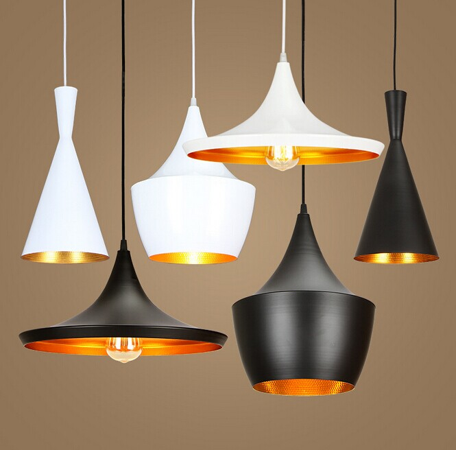 Black/White Aluminum ABC Pendant Lights Musical Instrument Hanging Pendant Lamp Light For Restaurant Lamp Bar iwhd led pendant light modern creative glass bedroom hanging lamp dining room suspension luminaire home lighting fixtures lustre