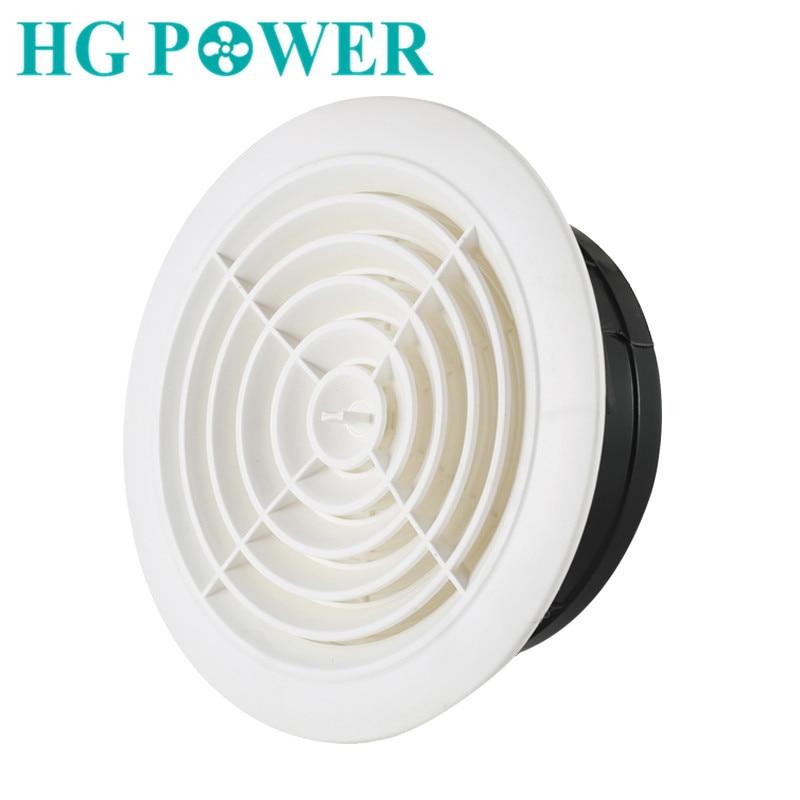 3~8 ''Adjustable Ventilation Grilles Grid Air Vent Round Louver Grille Cover Grate Ventilator For Bathroom Kitchen Ventilation