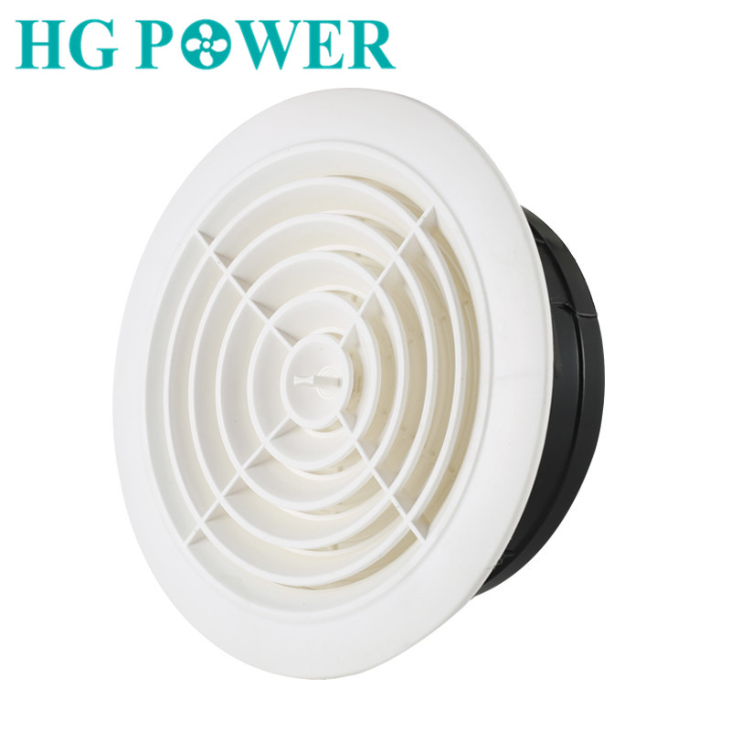 3~8  inch Adjustable Exhaust Vent Round Wall Air Vent ABS Louver White Grille Cover for Bathroom Office Kitchen Ventilation3~8  inch Adjustable Exhaust Vent Round Wall Air Vent ABS Louver White Grille Cover for Bathroom Office Kitchen Ventilation