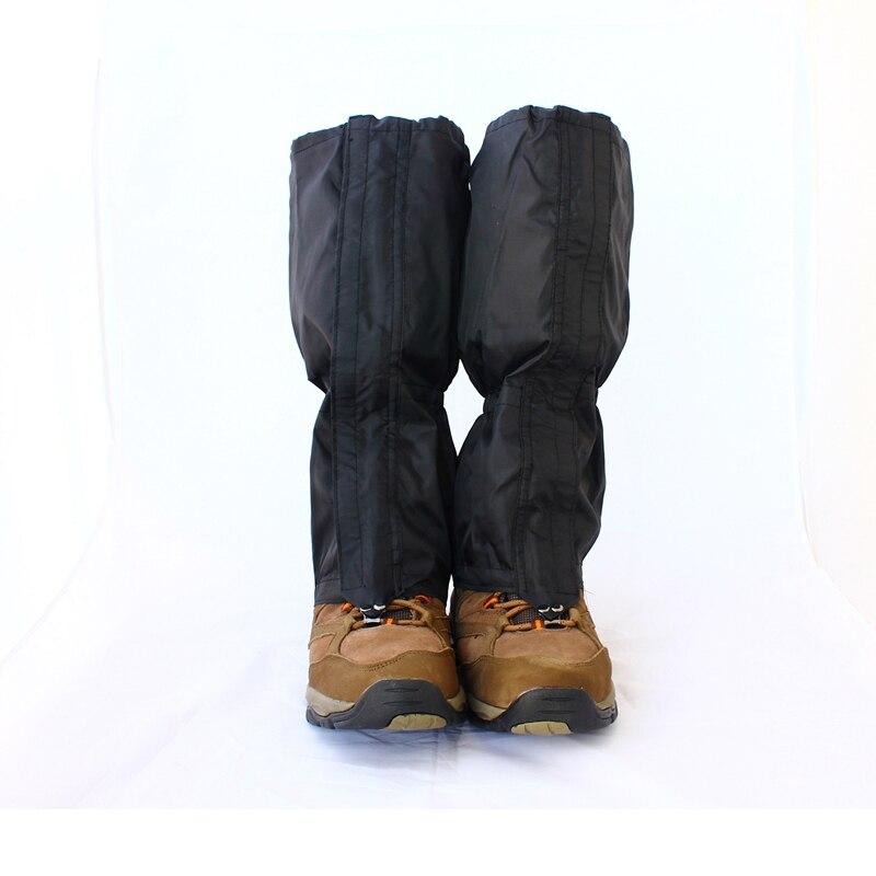 1 paia Ghetta Impermeabile Outdoor Trekking Passeggiate Arrampicata Caccia Da Sci Neve Legging Ghette