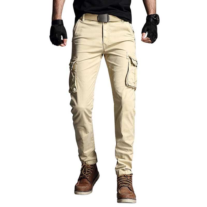 Pantalones Cargo De Moda Para Hombre Ropa Tactica Militar De Retales De Algodon Pantalones Informales Aliexpress