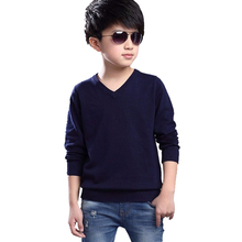 2016 New Kids Sweater Boys Sweater Children Autumn Winter Spring Sweaters and Cardigans Casual Boys Sweaters Kids Clothes 6-14Y