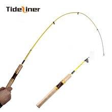 Tideliner UL 1.8m spinning fishing rod 1-6g lure ultralight carbon fiber portable telescopic mini spinning fishing rods 2-6LB