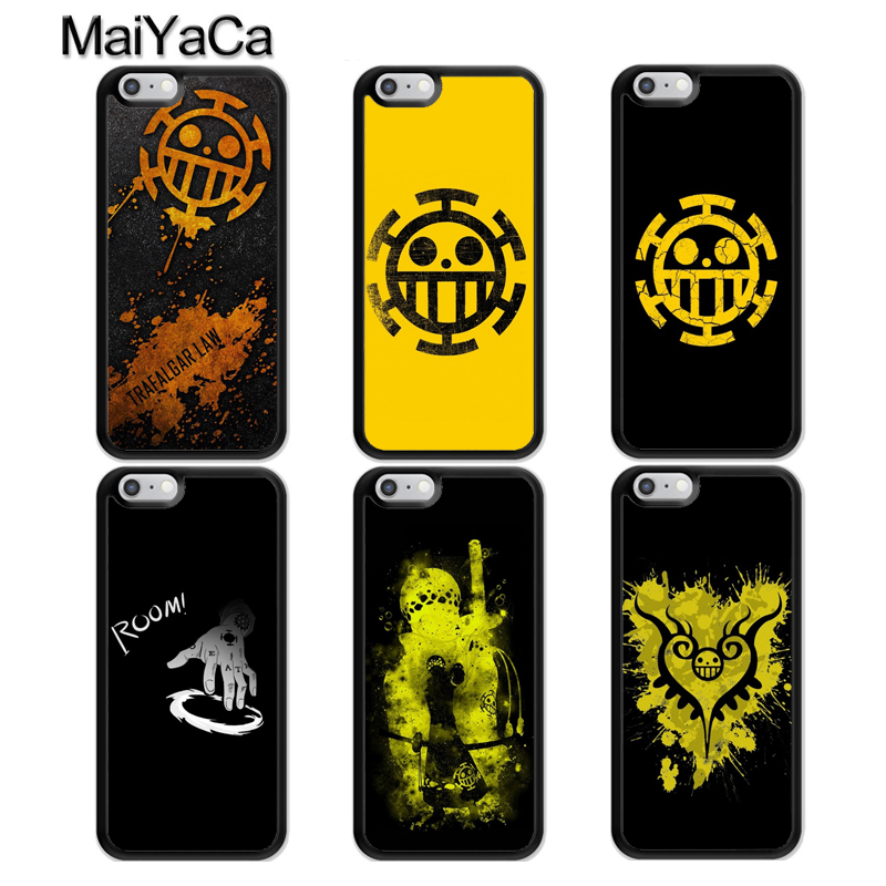 MaiYaCa One Piece Trafalgar Law Logo Phone Case For iphone