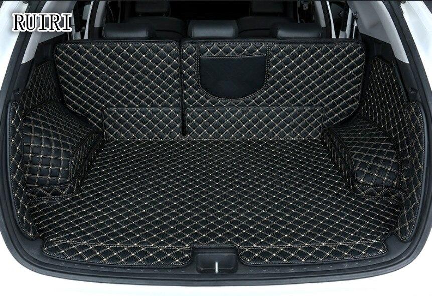 Qualité supérieure! Spécial tronc tapis pour Hyundai Tucson 2019-2015 étanche cargo liner boot tapis pour Tucson 2017, Livraison gratuite