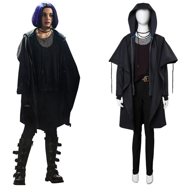 2018 Titans Raven Rachel Roth Cosplay Costume Outfit Adult -3373