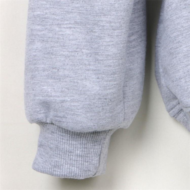 New Promotion Sudaderas Mujer 17 Casual Moleton Feminino Tumblr Sweatshirts I'm Fine Thank You Print Hoodies Grey Felpe Donna 8