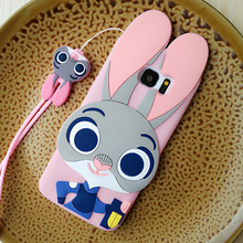 3D-Case with Cartoon Rabbit for Samsung Galaxy