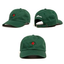 Flower Rose Embroidered Baseball Cap
