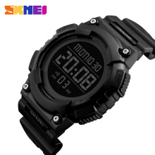 SKMEI 1248 Men Sports Watches 50M Waterproof Multifunction PU Brand  Digital Watch Fashion Alarm Wristwatches Relogio Masculino skmei brand digital watch men sports watches countdown double time wristwatches relojes 50m waterproof relogio masculino 1251