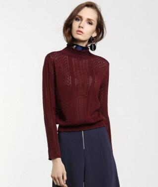 Elástico suéter de lana suéter de las mujeres Euro  otoño invierno de la manera