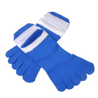 5 Pairs Lot New Breathe Pure Cotton Men S Sports Five Finger Toe Socks Casual Breathable
