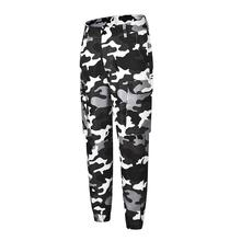 Fashion Women Casual Pant Camouflage Camo Print Long Trousers Pants