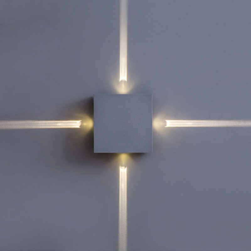 Светодио дный 6 Вт 12 Вт Светодиодный настенный светодио дный светильник светодиодный точечный свет современный домашний декор свет для спальни/столовой/туалета AC85-265V Крытый бар