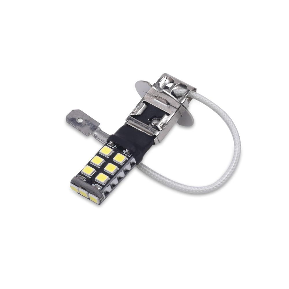 배 H3 Canbus는 빛 15SMD 2835 LED 차 LED 정면 빛 헤드 - 자동차 조명 - 사진 5