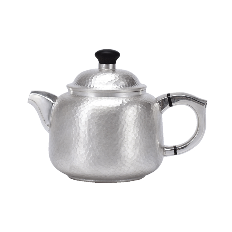 High Grade Silver Made Tea Kettle Vacuum Thermos Cup Coffee Cup  Kung Fu Tea Gift For Family And Friends Kitchen Office Tea Set