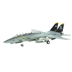 pre-built 1:72 F-14 Tomcat F-14B supersonic twin-tail VF-103 jet aircraft hobby collectible finished plastic airplane model