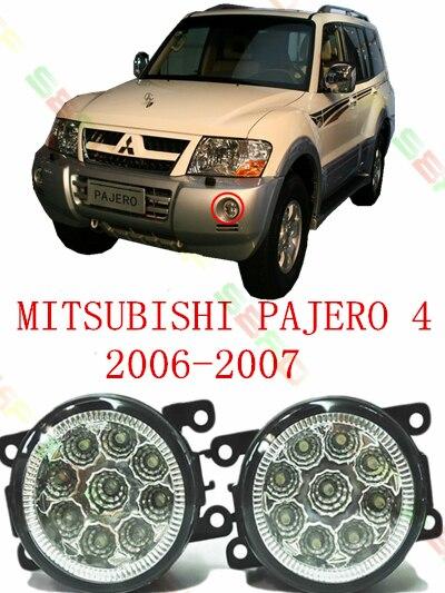 светодиодные противотуманки для mitsubishi pajero 3