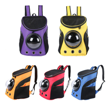 Фотография 2018 NEW Portable Pet Carrier Bag Space Capsule Bag Breathable Dog Cat Carrier Backpack Pet Outdoor Travel Space Cabin