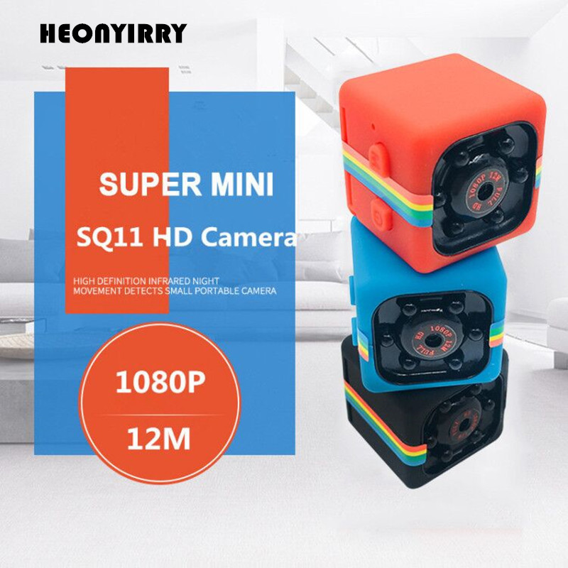 SQ11 Mini DV Camera Full HD 1080P Infrared Night Vision Sports HD Micro Cam Motion Detection Camcorder DV Video Voice Recorder newest ir cut camera 1080p mini full hd camera micro infrared night vision cam motion detection dv spied cameras