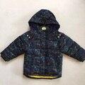 2016 winter coat boys wear Polar fleece cotton-padded clothes male baby dinosaurs cotton-padded jacket
