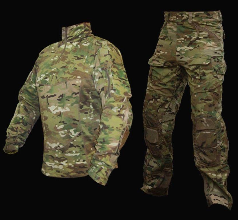 tactical military special force combat uniform suit