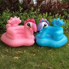 Christmas Inflatable Inflatable Small Sofa Baby Learning Child Cushion Dining Chair Portable with Bath Stool PVC Toy