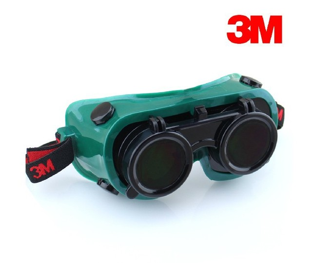 3M 10197 Welding Glasses protective Goggles IR5.0 Scratch-resistant Anti-UV Coating Genuine G82314