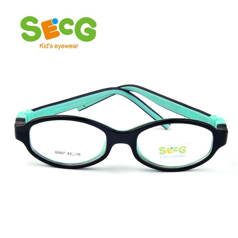 Secg estudiante óptico lindo Marcos safty cómodo flexible anteojos ...