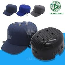 Nowa, do pracy bezpieczeństwa kask kask czapka bejsbolówka styl ochronna twardy PP kapelusz do pracy sklep fabryczny do przenoszenia ochrona głowy